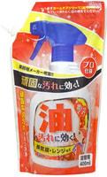 "Yuwa ""Home Care Series for Oil Stains"" Чистящее средство для кухни против жировых и масляных загрязнений, мягкая упаковка, 400 мл."