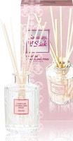 """Kobayashi """"Sawaday Stick Parfum Sparkling Pink"""" Натуральный аромадиффузор для дома, с чарующим цветочно-фруктовым ароматом, стеклянный флакон, 70 мл, 8 палочек."""