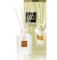 """Kobayashi """"Sawaday Stick Parfum Sparkling Gold"""" Натуральный аромадиффузор для дома, с ярким цветочно-цитрусовым ароматом и нотками жасмина и розы, стеклянный флакон, 70 мл, 8 палочек."""