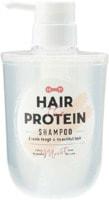 """Cosmetex Roland """"Hair The Protein"""" Восстанавливающий и увлажняющий шампунь для волос с 6 видами протеинов, кератином и аминокислотами, с фруктово-цветочным ароматом, 460 мл."""