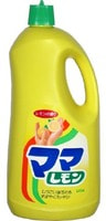 LION Cредство для мытья посуды, кухонной утвари, фруктов и овощей «Мама Лимон», 2150 мл.