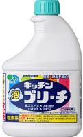 Mitsuei Универсальный пенный кухонный отбеливатель с эффектом распыления, запасной блок, 400 мл.