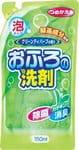 """ROCKET SOAP Пенящееся чистящее средство для ванны """"Rocket Soap - зеленый чай и травы"""", 350 мл (мягкая упаковка)."""