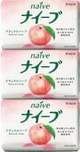 KRACIE Туалетное мыло с экстрактом персика, 3 шт. по 90 гр.