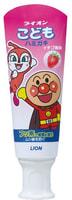 Lion Детская зубная паста слабообразивная, со вкусом клубники, 40 гр.