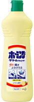 KAO «Homing Lemon» Универсальный чистящий крем для удаления стойких загрязнений на кухне, от подгаров и жиров, запах лимона, 400 гр.