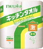 "NEPIA �������� ���������, 2 ������ �� 50 ���������, ""Super Absorb Kitchen Towel Dobble""."