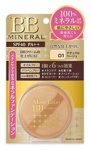 MEISHOKU MOISTO-LABO MINERAL FOUNDATION / Пудра рассыпчатая минеральная (натуральный беж), SPF 40 РА++.