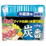 """KOKUBO """"Sumi-Ban"""" Поглотитель неприятных запахов для холодильника, дезодорирующий, с древесным углём, 150 гр. (общее отделение)."""
