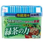 """KOKUBO """"Power of green tea"""" Дезодорант-поглотитель неприятных запахов для холодильника, с экстрактом зелёного чая (общая камера), 150 гр."""