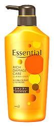 """KAO Премиум-шампунь для сухих, окрашенных, сильно повреждённых волос """"Essential Damage Care Rich"""", 500 мл."""