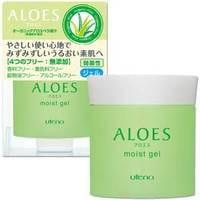 UTENA «Aloes» Легкий увлажняющий гель с экстрактом алоэ вера и гиалуроновой кислотой, 80 гр.