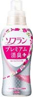 """LION Кондиционер для белья """"SOFLAN"""" с нежным аромат букета роз, малины и фруктов, 620 мл."""