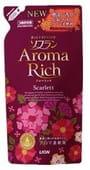 """LION Кондиционер для белья """"SOFLAN"""" - """"Aroma Rich Scarlett""""с натуральными ароматическими маслами, 480 мл. Сменный блок."""