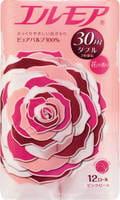 "Kami Shodji ""Ellemoi"" Ароматизированная туалетная бумага 2 х-слойная 12 рулонов по 30 м., розовая."