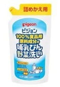 PIGEON-ЯПОНИЯ Средство для мытья бутылочек, овощей и фруктов, сменный блок, 700 мл.