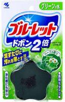 KOBAYASHI Двойная таблетка для бачка унитаза с эффектом окрашивания воды «Bluelet – травы», 120 гр.