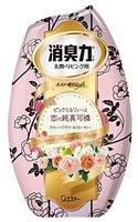"ST ""Shoushuuriki"" Жидкий дезодорант – ароматизатор для комнат с ароматом белого букета, 400 мл."