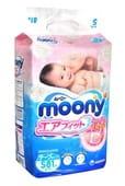 "Unicharm Подгузники ""Moony"" S (4-8 кг.), 82 шт."
