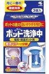 KOBAYASHI Ионизирующая таблетка для удаления известковой накипи и загрязнений поттеров и чайников, 3 шт. по 25 гр.