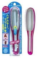 Ikemoto Щётка для волос с силиконовым стержнем, розовая.