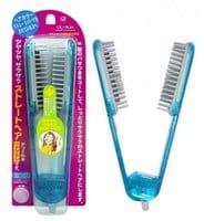 IKEMOTO Щетка для выпрямления волос, голубая.