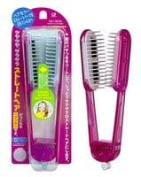 IKEMOTO Щетка для выпрямления волос, розовая.