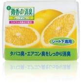 """ST """"Bikou DE Shoushuu"""" Ароматизатор автомобильный (устанавливается под сиденье), аромат грейпфрута, 200 гр."""