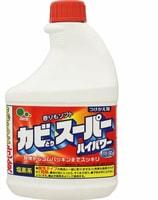 Mitsuei Мощное чистящее средство для ванной комнаты и туалета с возможностью распыления, 400 мл., сменный блок.