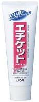 "LION Зубная паста ""ETIQUETTE"" для профилактики запаха изо рта, ментол, туба, 130 гр."