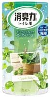 """ST """"Shoushuuriki"""" Жидкий дезодорант – ароматизатор для туалета c ароматом яблочной мяты 400 мл."""