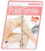 "SUN SMILE ""Pure Smile"" Увлажняющая маска для колен с эссенцией земляники, 1 пара."