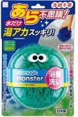 """KOKUBO """"Ecomagic monster"""" Чудо-спонж для чистки ванны без использования моющих средств, зелёный цвет."""