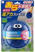 """KOKUBO """"Ecomagic monster"""" Чудо-спонж для чистки ванны без использования моющих средств, синий цвет."""