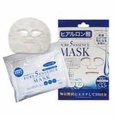 JAPAN GALS «5 Pure Essence» Маска для лица с гиалуроновой кислотой, 30 масок в упаковке!