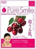 """SUN SMILE """"Essence mask"""" Успокаивающая маска для лица с эссенцией барбадосской вишни, 23 мл., 1 шт."""