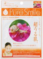 """SUN SMILE """"LIVING ESSENCE"""" Регенерирующая маска для лица с эссенцией моллюсков, 23 мл., 1 шт."""