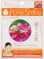 """Sun Smile """"Living Essence"""" Регенерирующая маска для лица с муцином улитки, 1 шт."""