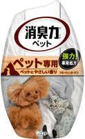 "ST ""Shoushuuriki"" Жидкий дезодорант – ароматизатор для комнат против запаха домашних животных c ароматом фруктового сада, 400 мл."
