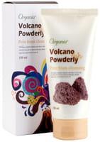 """WHITE COSPHARM """"Organia Volkano Powderly Pore Foam Cleansing"""" Пенка для умывания с вулканическим пеплом, 150 мл."""