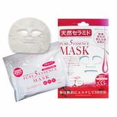"""Japan Gals """"5 Pure Essence"""" Маска для лица с церамидами, 33 маски в упаковке."""