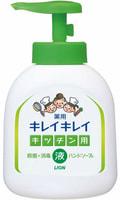 """Lion """"Kireikirei"""" Жидкое антибактериальное мыло для рук с апельсиновым маслом - для применения на кухне, 250 мл."""
