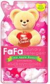 NISSAN Жидкое средство для стирки детской одежды для стиральных машин с ароматом яблока, «FaFa Clear Apple Blossom», сменная упаковка, 900 мл.