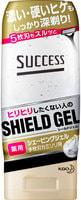 """KAO """"Success Medicated Shaving Gel for razor"""" Гель для бритья бритвой с тремя или более лезвиями, с увлажняющим и противовосполительным эффектом, 180 гр."""