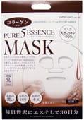 """Japan Gals """"5 Pure Essence"""" Маска для лица ежедневная с коллагеном, 30 масок в упаковке!"""