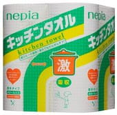 NEPIA Кухонные полотенца, 4 рулона по 50 полотенец,