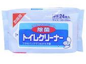 """Showa Siko """"Toilet cleaner"""" Влажные салфетки для очищения унитаза, 24 шт., 16 смх25 см."""
