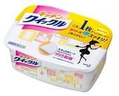 KAO «Quick Le» Салфетки для удаления жира и загрязнений на кухне, с дезинфицирующим эффектом, коробка - 10 шт., 31 см. на 24,5 см.