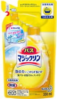 KAO «Magiclean Bath - Магия Чистоты» Спрей-пенка для ванны с антигрибковым, дезинфицирующим эффектом, с ароматом лимона, 330 мл., сменная упаковка.