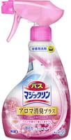 KAO «Magiclean Bath» - Очищающая спрей-пенка для ванной комнаты с ароматом розы, 380 мл.
